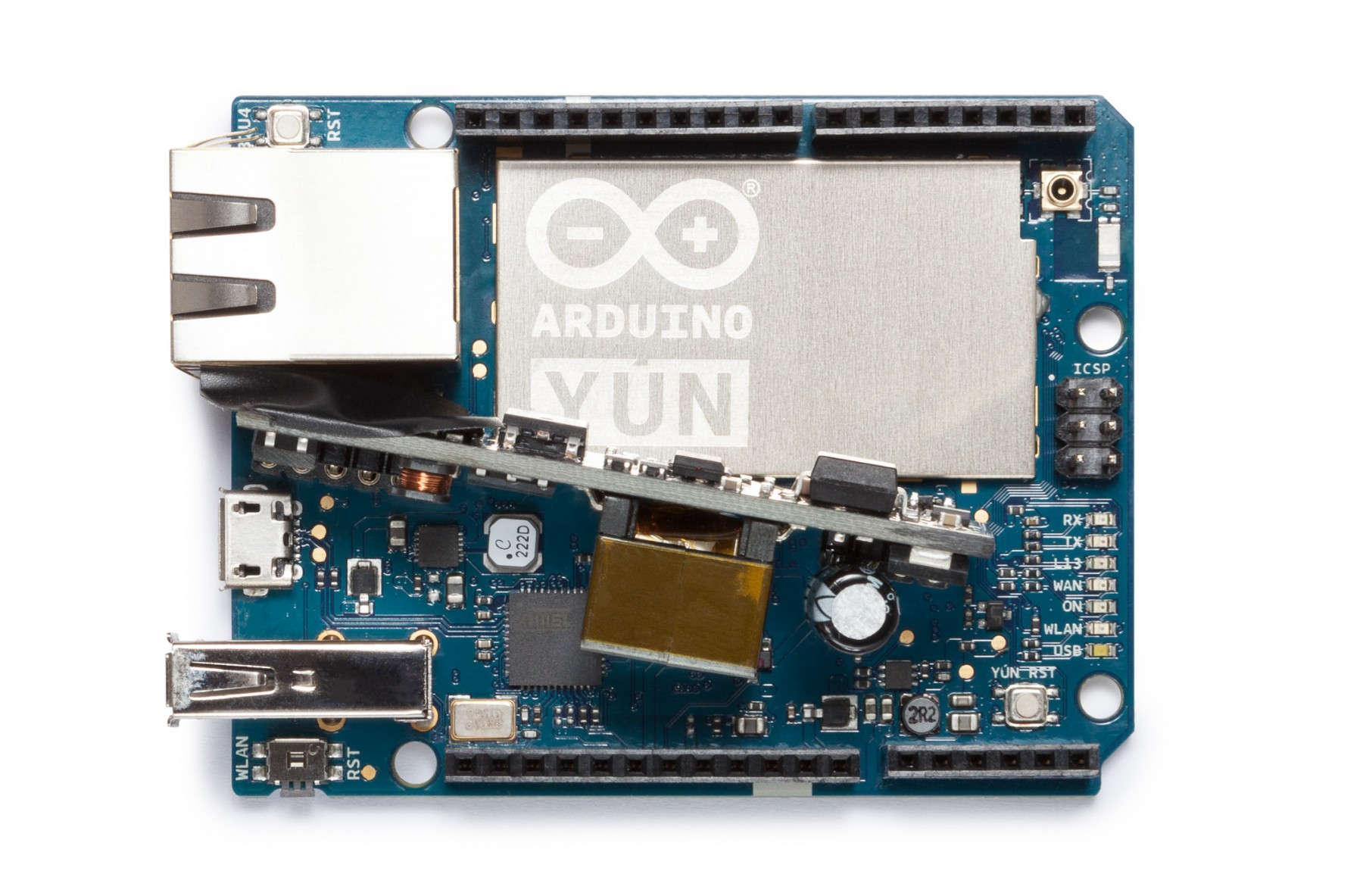 Arduino yún with poe boards modules genuino