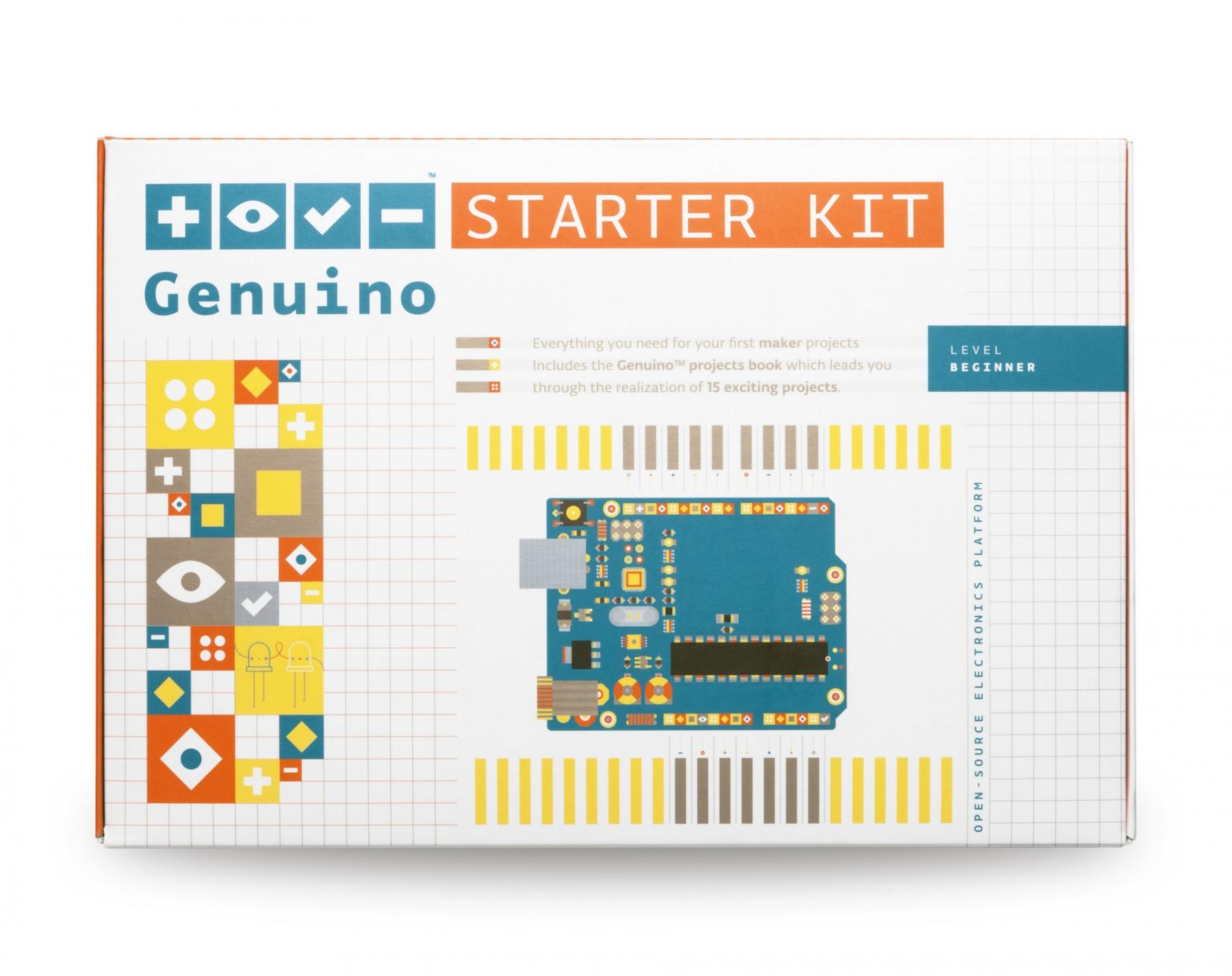 Arduino genuino starter kit multi language