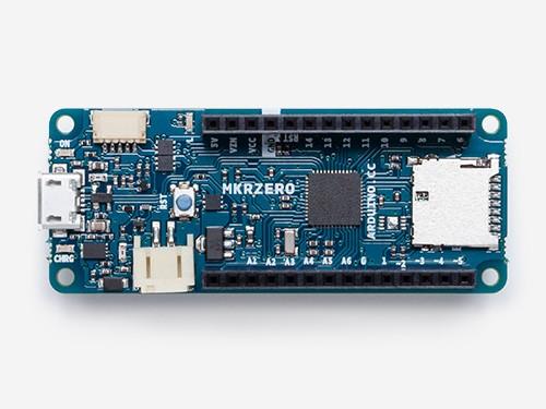Arduino MKRZero with Headers