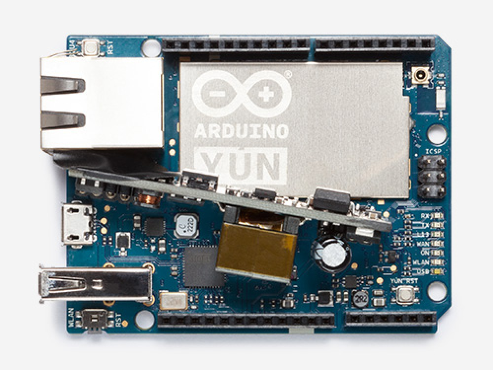 Arduino Yún with PoE