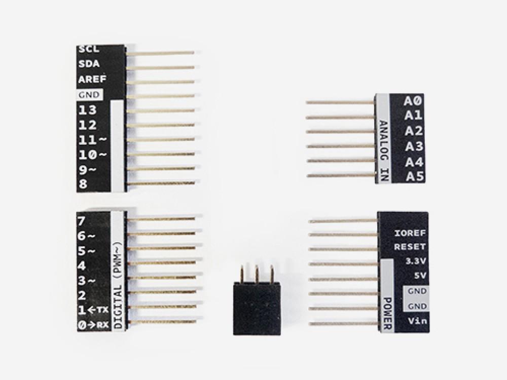 Strip 2x3/6/8/10 ways Arduino Uno Printed