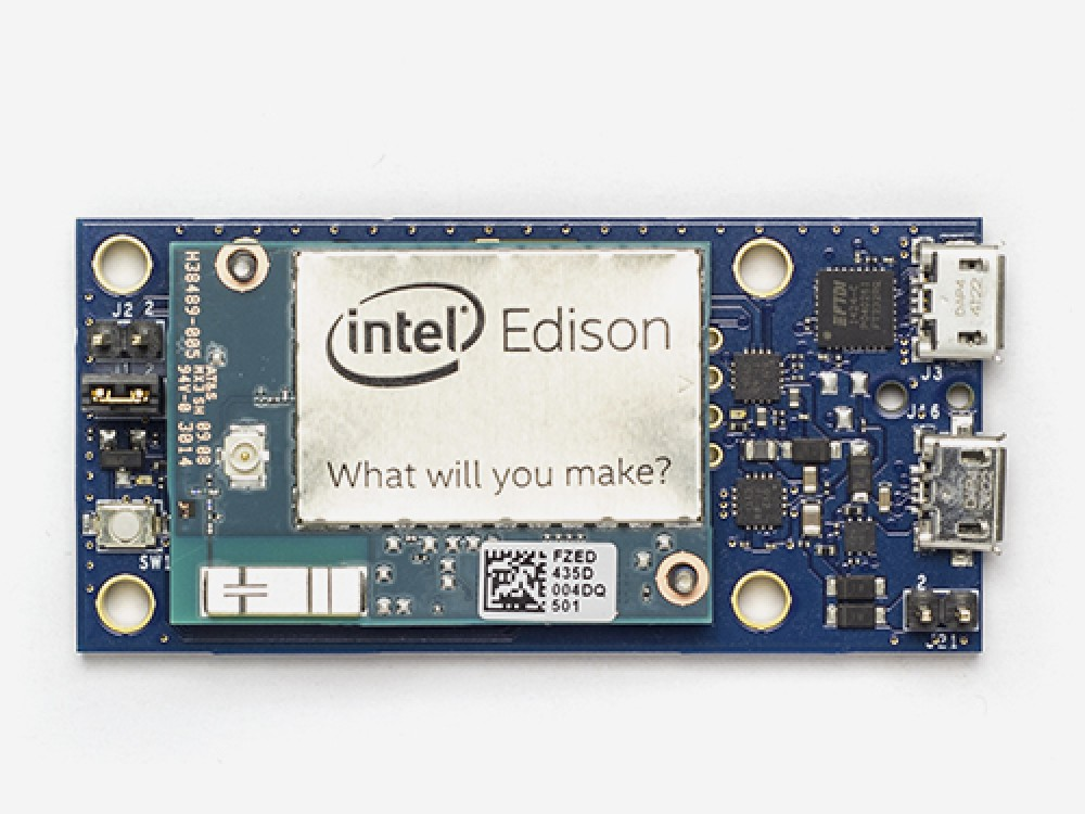 Intel Edison with breakout board kit