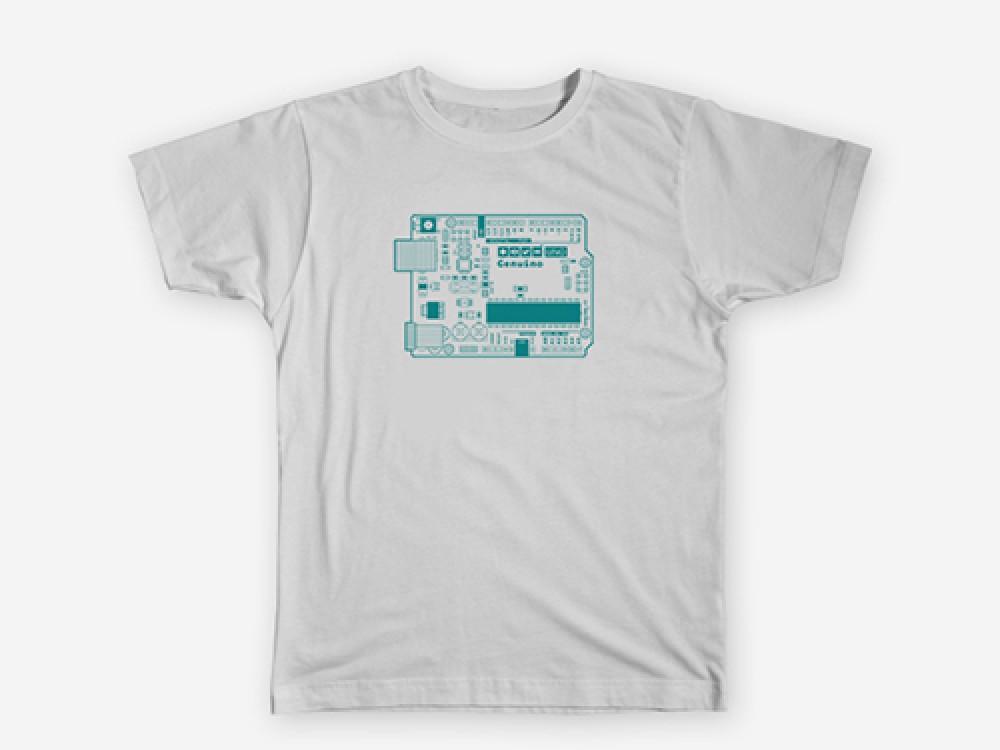 T- Shirt Genuino Uno White