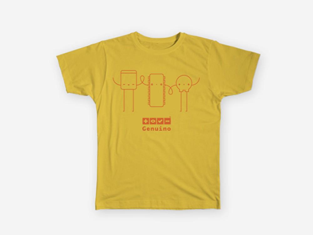 T-Shirt for Kids Genuino Yellow