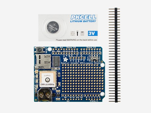 Adafruit Ultimate GPS Logger Shield v1