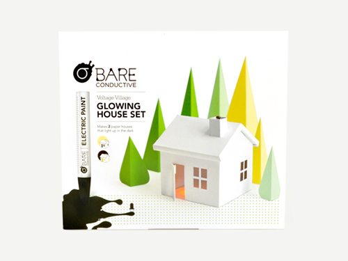Bare Conductive - Glowing House Set - Voltage Village