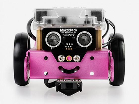 mBot robot v 1.1 - Pink (Bluetooth Version)