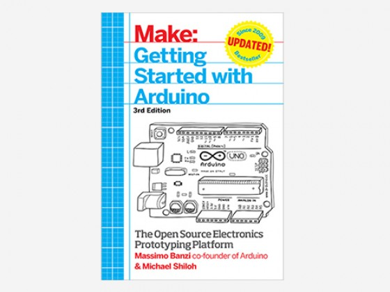 Getting Started With Arduino 3rd Edition - Book