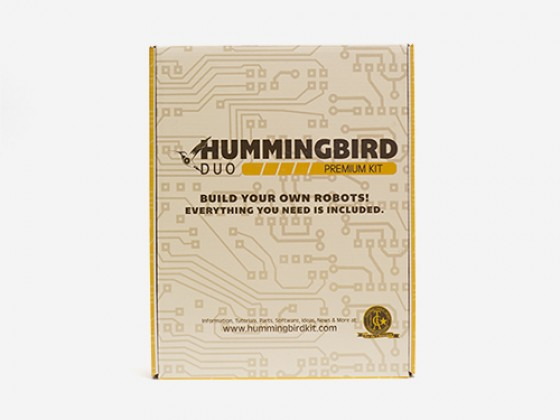 Hummingbird Duo Premium robot Kit