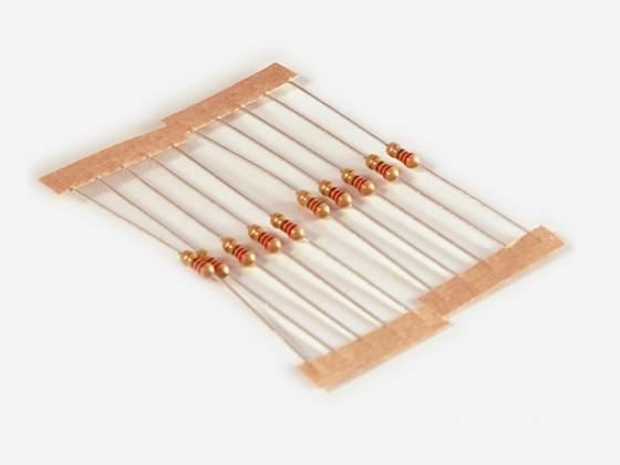 220 Ohm 1/4w resistor 10x