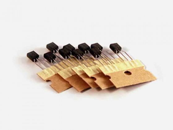 10x BC547 transistor