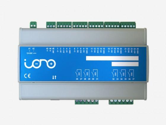 IONO ETHERNET PLC (Relay, Analog/Digital I/Os, RS-485)