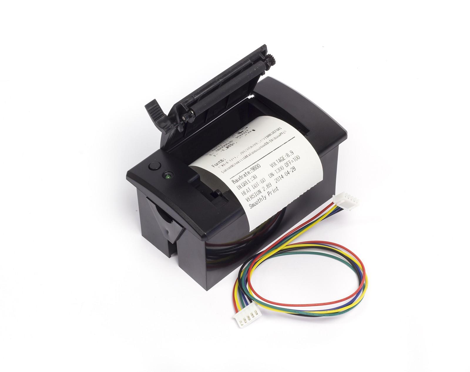 Mini thermal receipt printer