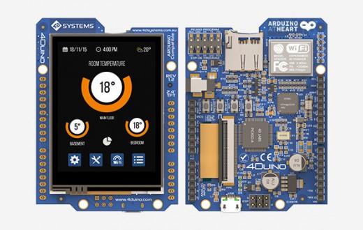 4Duino-24 LCD  LCD touchscreen