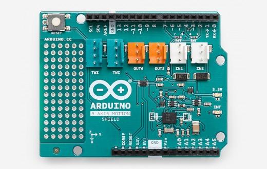 Arduino 9 Axis Motion Shield