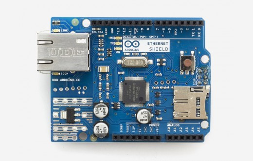 Arduino ethernet shield without poe module