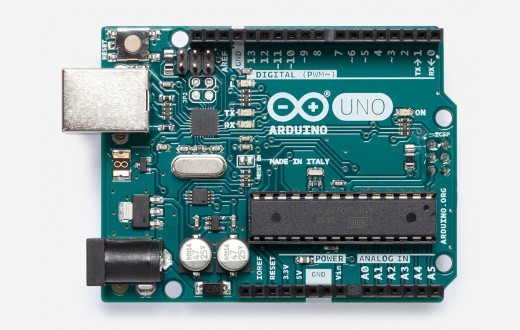 Arduino Uno Rev3 with Long Pins