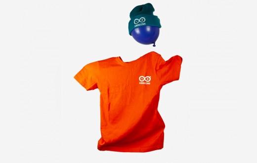 Arduino T-Shirt for Kids Orange