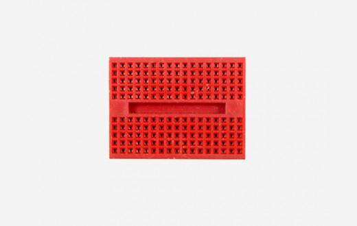 Mini breadboard - Red