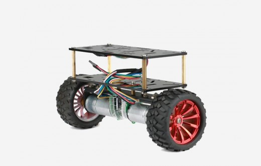 Two Wheels Balance Car chassis with JGA Motor Kit