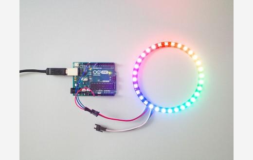 RGB Smart LED 32 pixels ring