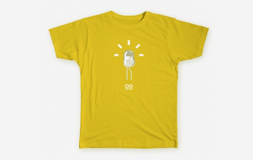 LED T-Shirt Yellow