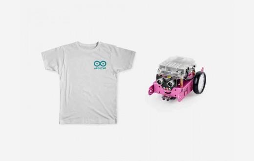 Young Maker Bundle Pink mbot robot