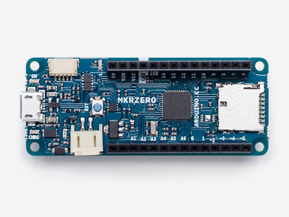 Arduino MKRZero (I2S bus for sound, music & digital audio data)