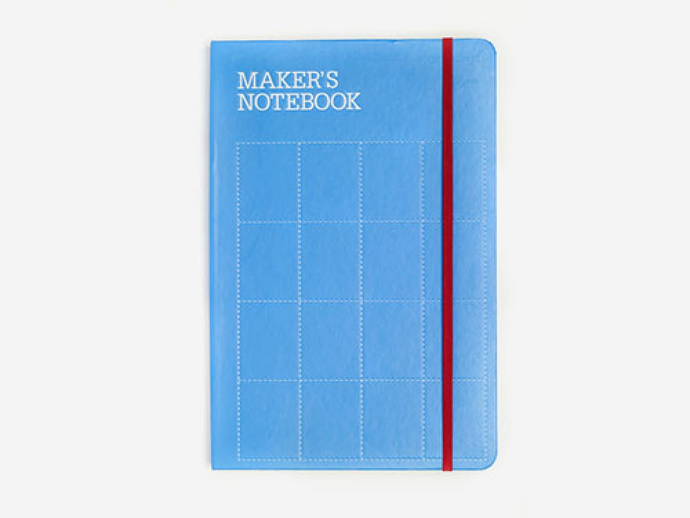 Maker's Notebook (Hard-Bound, 168 pages)