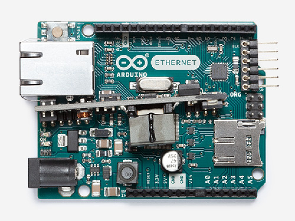 Arduino Ethernet Rev3 with PoE