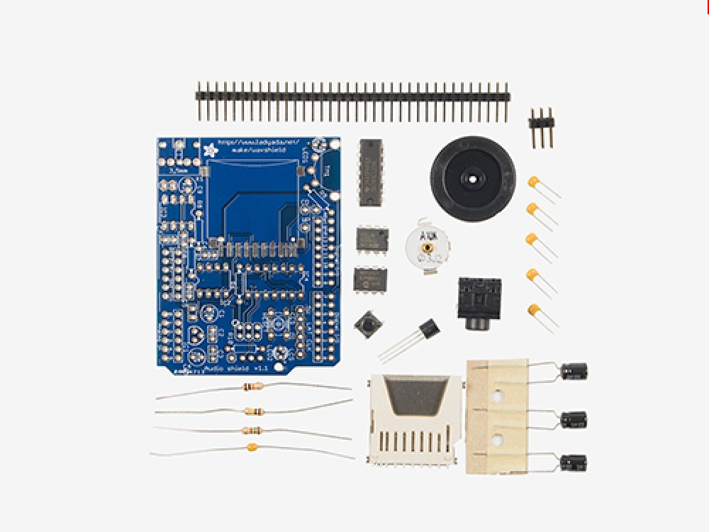 Adafruit Wave Shield Kit - v1.1