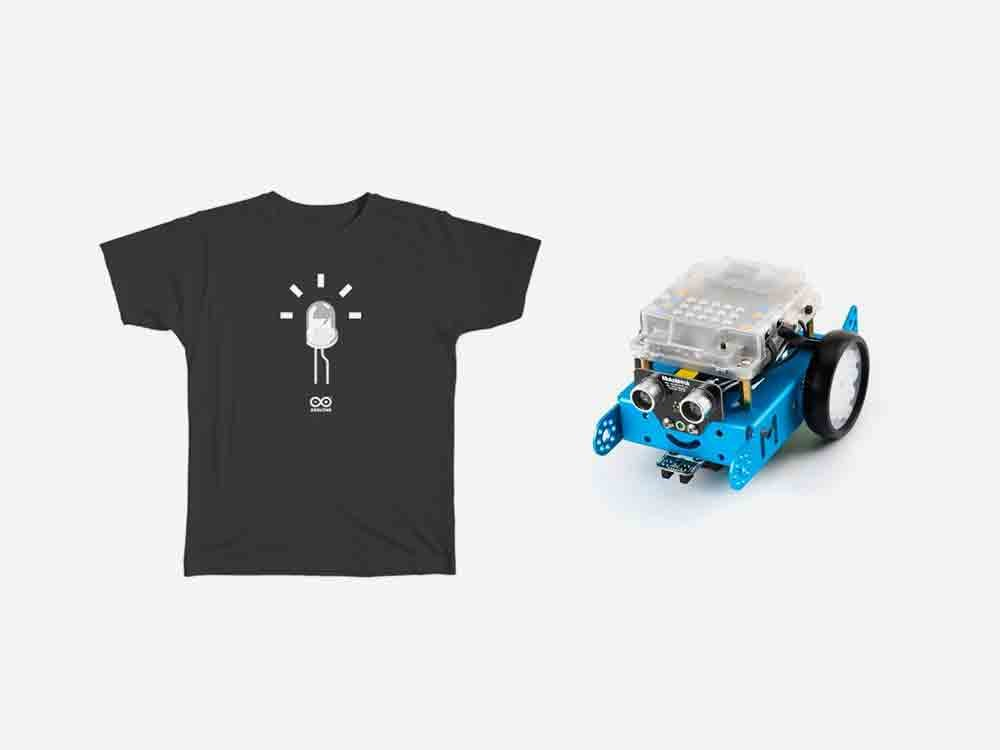 Young Maker Bundle Blue with Mbot robot