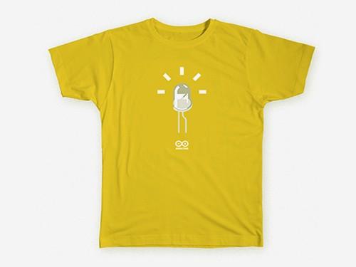 LED T-shirt Yellow