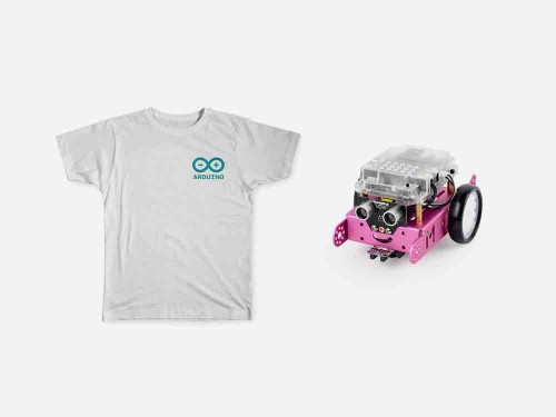 Young Maker Bundle Pink mbot robot