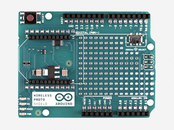 Arduino Wireless Proto Shield