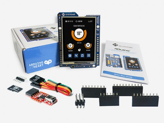 SK-4Duino-24  LCD touchscreen Starter Kit