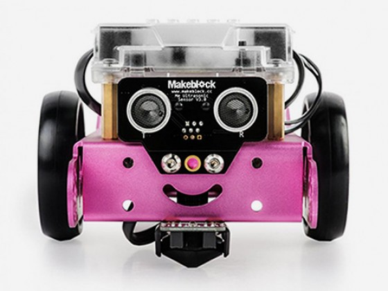 mBot robot v 1.1 - Pink (Bluetooth Version)