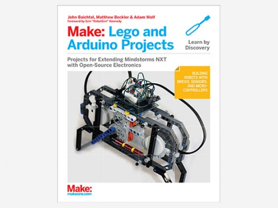 (Make) Lego and Arduino Projects