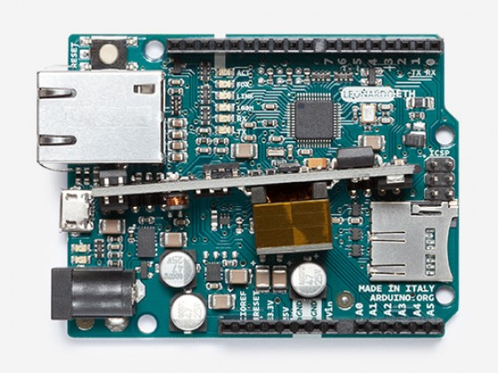 Arduino Leonardo ETH 2 with PoE
