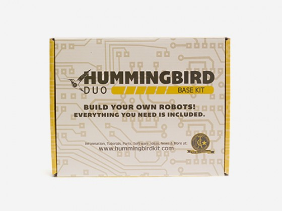 Hummingbird Duo Base robot Kit