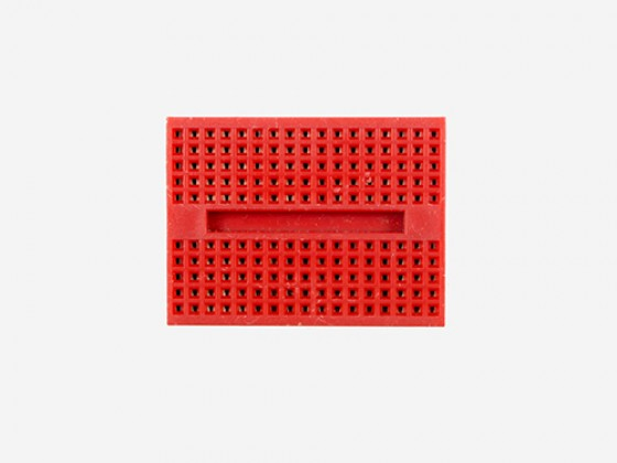 Mini breadboard - Red